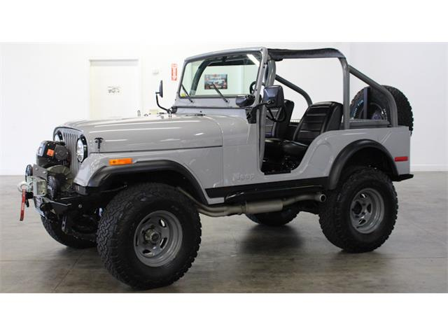 1974 Jeep CJ5 (CC-1333301) for sale in Fairfield, California