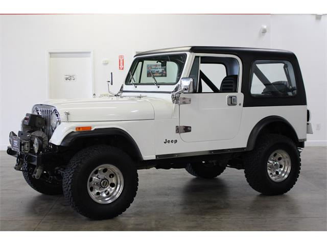1986 Jeep CJ7 (CC-1333304) for sale in Fairfield, California