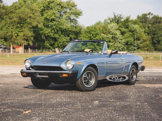 1979 Fiat Spider (CC-1333382) for sale in Elkhart, Indiana