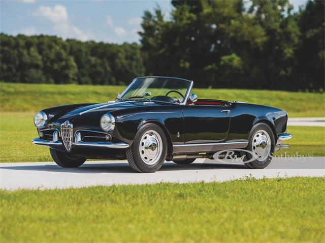 1959 Alfa Romeo Giulietta Spider (CC-1333458) for sale in Elkhart, Indiana