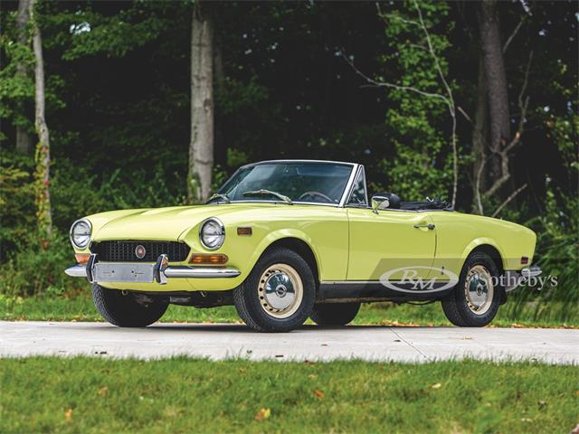 1973 Fiat Spider (CC-1333464) for sale in Elkhart, Indiana