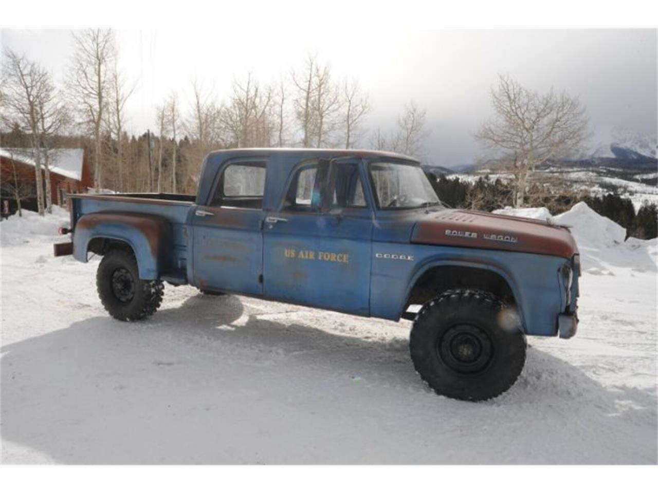 1962 Dodge Power Wagon (CC-1330037) for sale in Cadillac, Michigan
