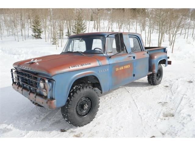 1962 Dodge Power Wagon (CC-1330037) for sale in Cadillac, Michigan