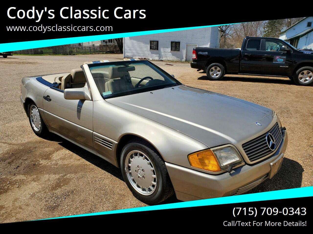 1992 Mercedes-Benz 500 (CC-1334144) for sale in Stanley, Wisconsin