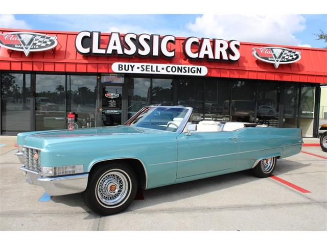 1969 Cadillac DeVille (CC-1334145) for sale in Sarasota, Florida