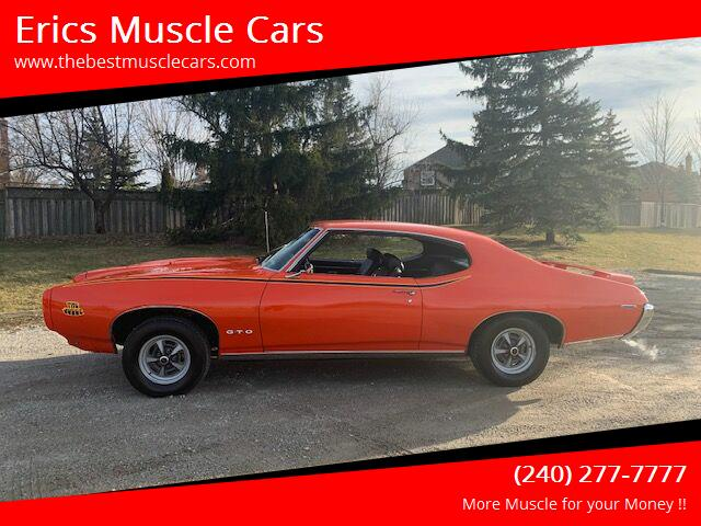 1969 Pontiac GTO (The Judge) (CC-1334214) for sale in Clarksburg, Maryland