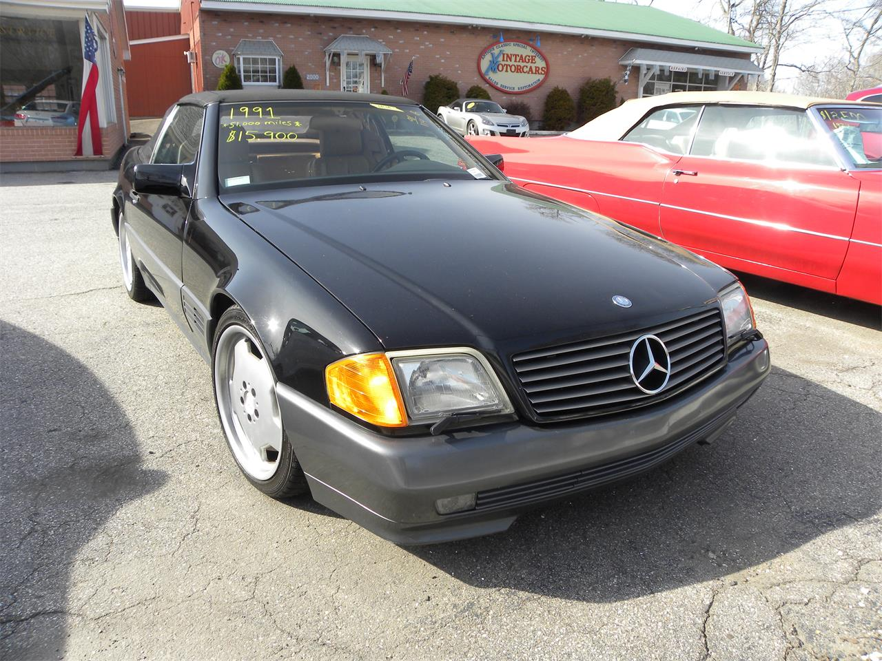 1991 Mercedes-Benz 500SL (CC-1334643) for sale in WESTBROOK, Connecticut