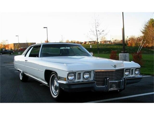 1972 Cadillac Coupe DeVille (CC-1334819) for sale in Harpers Ferry, West Virginia