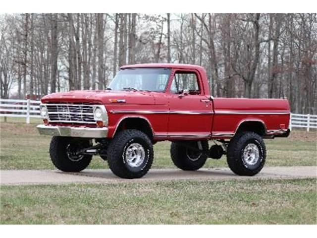1969 Ford F100 (CC-1334975) for sale in Cadillac, Michigan