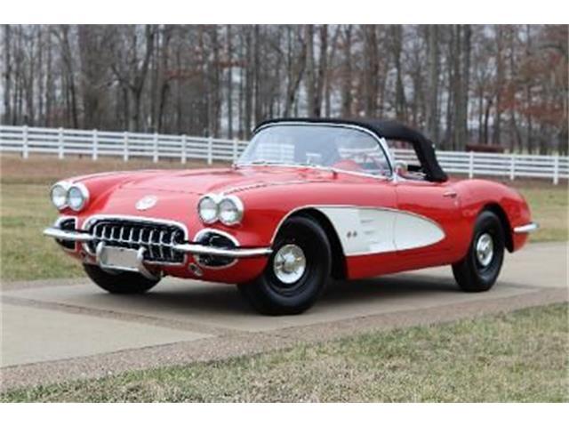 1959 Chevrolet Corvette (CC-1334976) for sale in Cadillac, Michigan