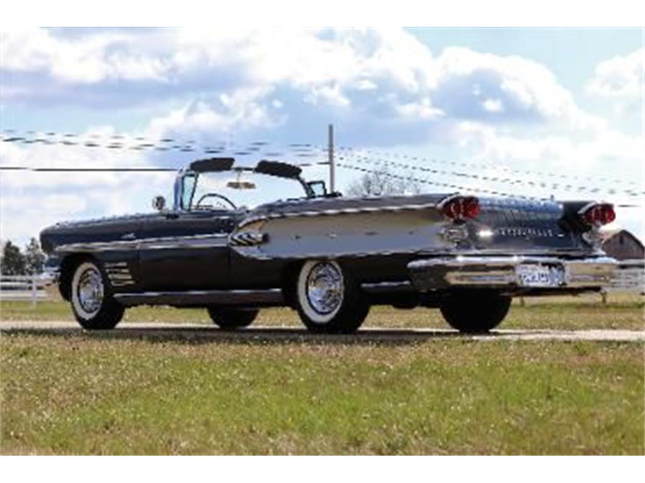 1958 Pontiac Bonneville (CC-1334979) for sale in Cadillac, Michigan