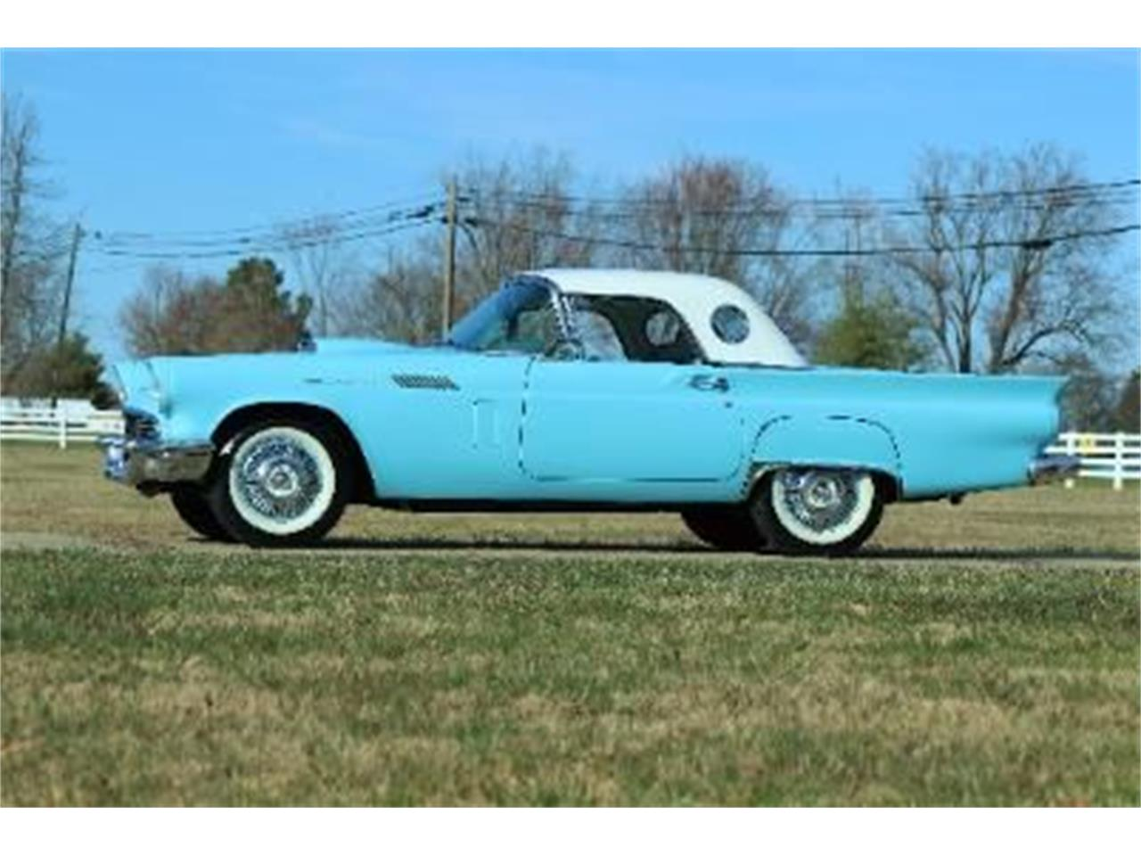 1957 Ford Thunderbird (CC-1334982) for sale in Cadillac, Michigan