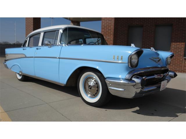 1957 Chevrolet Bel Air (CC-1335216) for sale in Davenport, Iowa