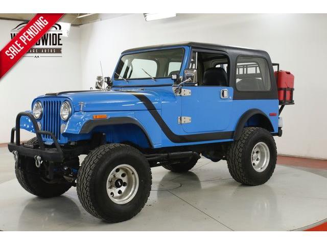 1984 Jeep CJ7 (CC-1335272) for sale in Denver , Colorado