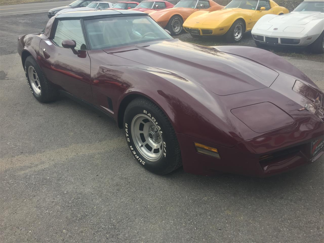 1981 Chevrolet Corvette (CC-1335554) for sale in Mount Union, Pennsylvania