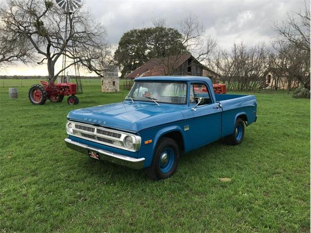 1971 Dodge D100 (CC-1335631) for sale in Fredericksburg, Texas