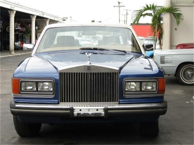 1986 Rolls-Royce Silver Spur (CC-1335783) for sale in Miami, Florida