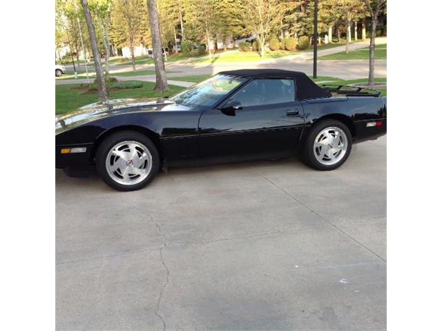 1989 Chevrolet Corvette (CC-1335816) for sale in Cadillac, Michigan