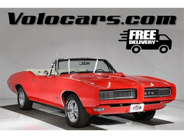 1968 Pontiac GTO (CC-1336006) for sale in Volo, Illinois