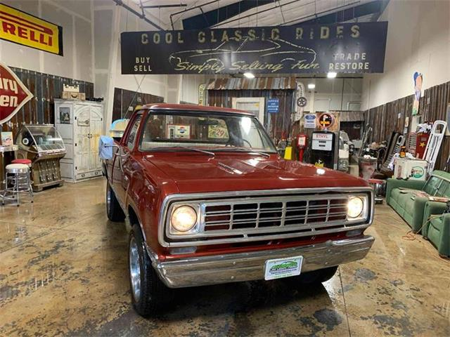 1976 Dodge Power Wagon (CC-1336031) for sale in Redmond, Oregon