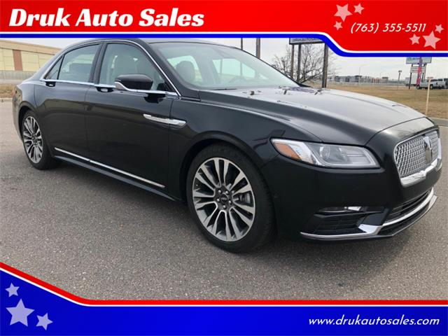 2017 Lincoln Continental (CC-1336086) for sale in Ramsey, Minnesota