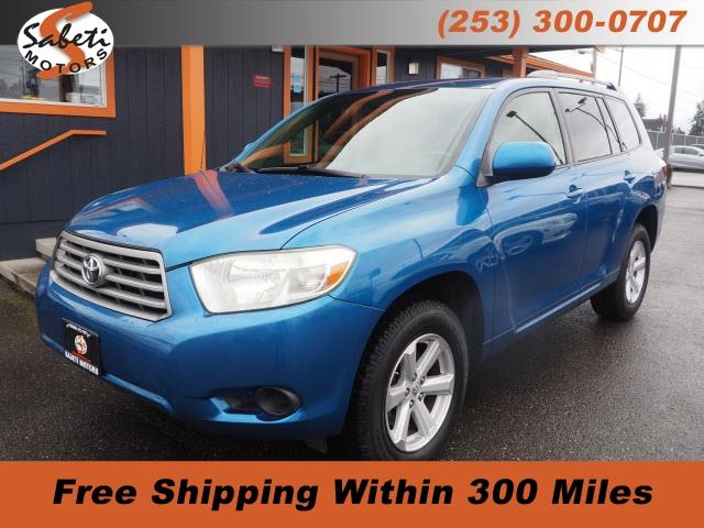 2008 Toyota Highlander (CC-1336095) for sale in Tacoma, Washington