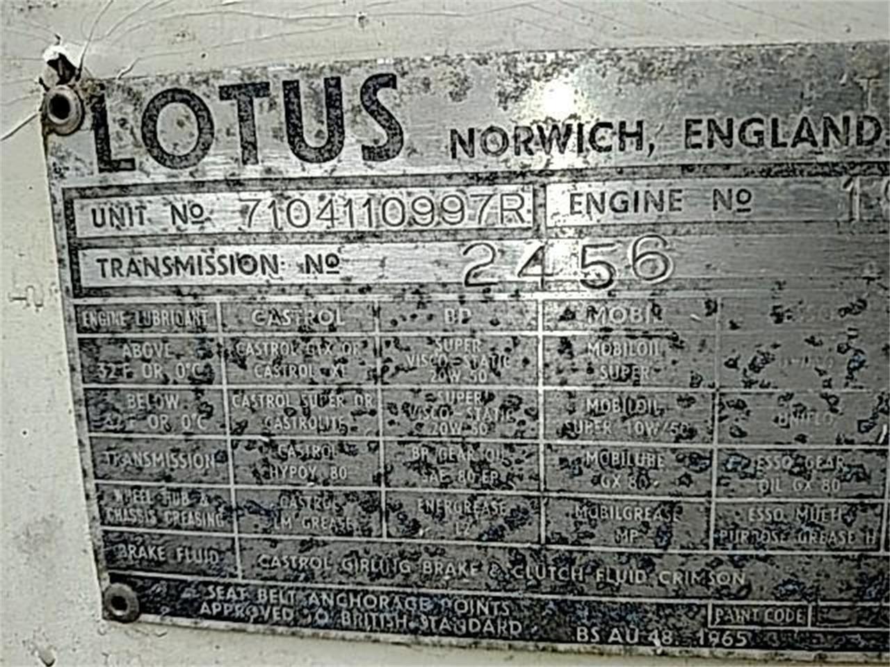 1971 Lotus Europa (CC-1336169) for sale in Simi Valley, California