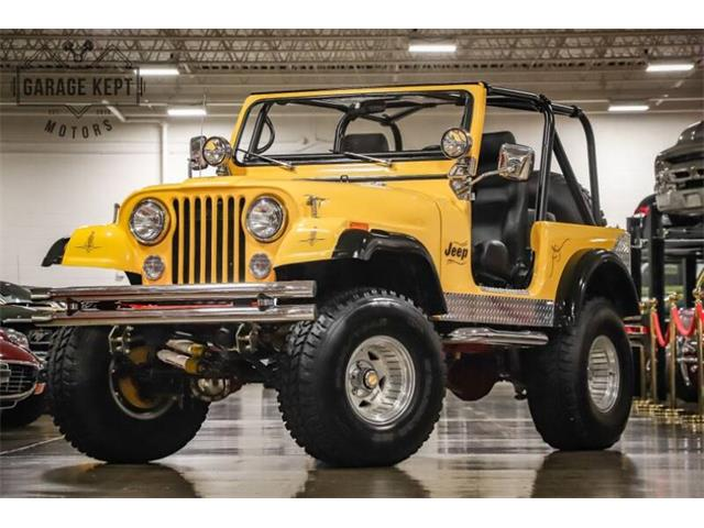 1979 Jeep CJ7 (CC-1336306) for sale in Grand Rapids, Michigan