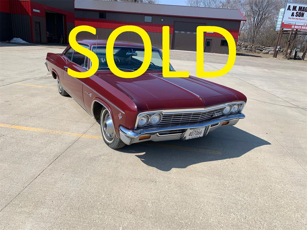 1966 Chevrolet Impala (CC-1336431) for sale in Annandale, Minnesota
