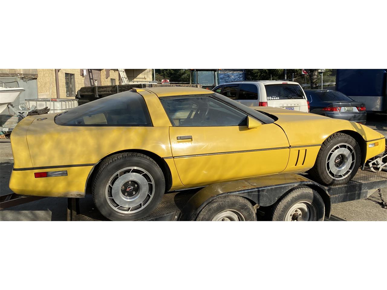 1987 Chevrolet Corvette C4 (CC-1336505) for sale in carnation, Washington