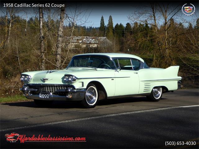 1958 Cadillac Series 62 (CC-1336621) for sale in Gladstone, Oregon