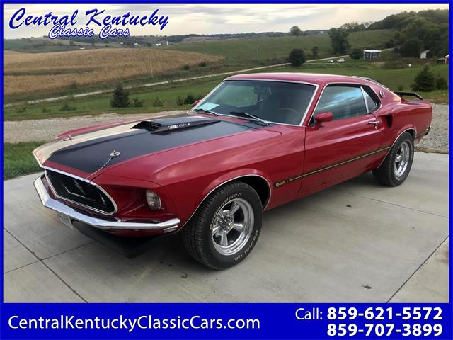 1969 Ford Mustang (CC-1336679) for sale in Paris , Kentucky