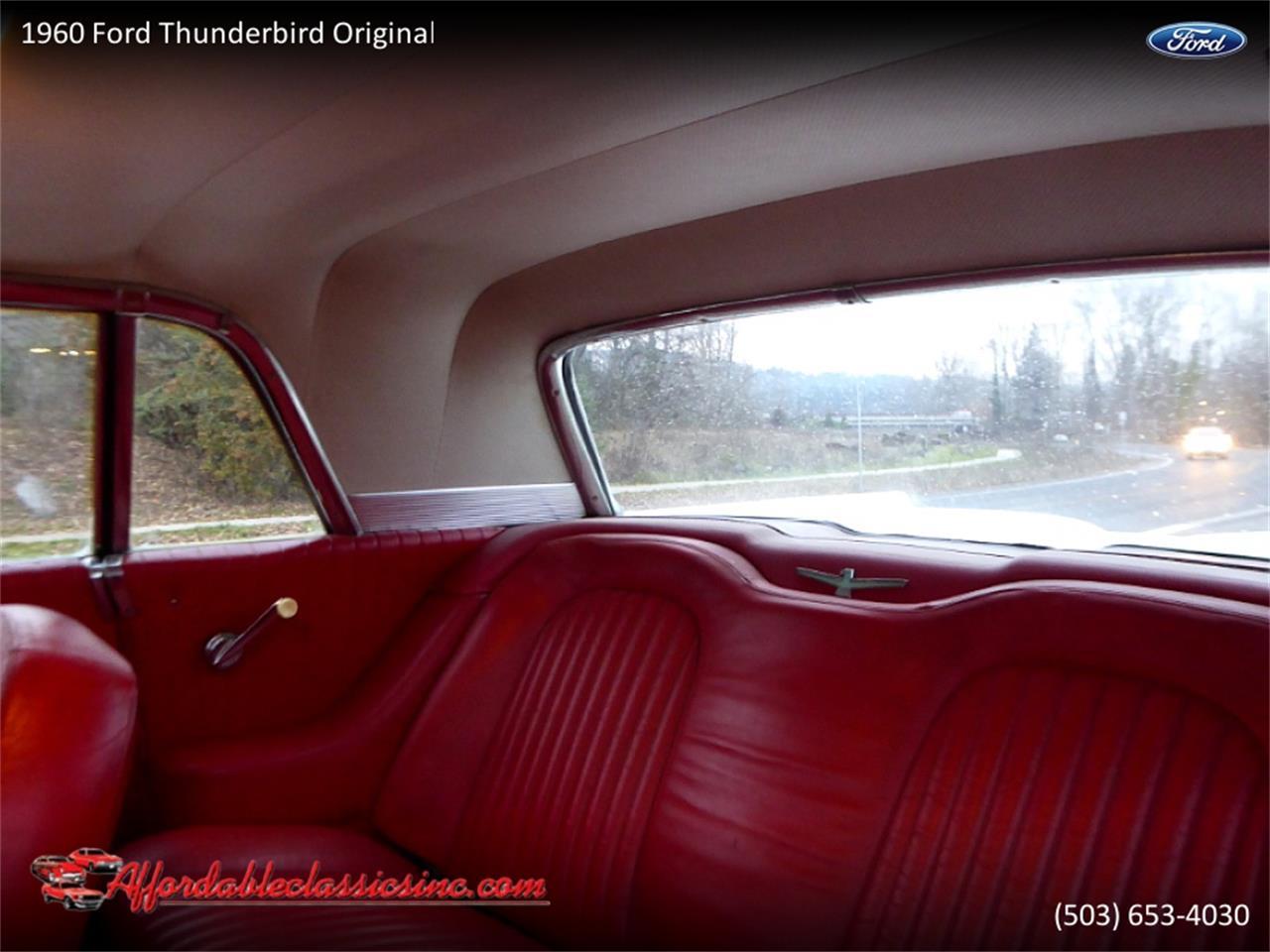 1960 Ford Thunderbird (CC-1330669) for sale in Gladstone, Oregon
