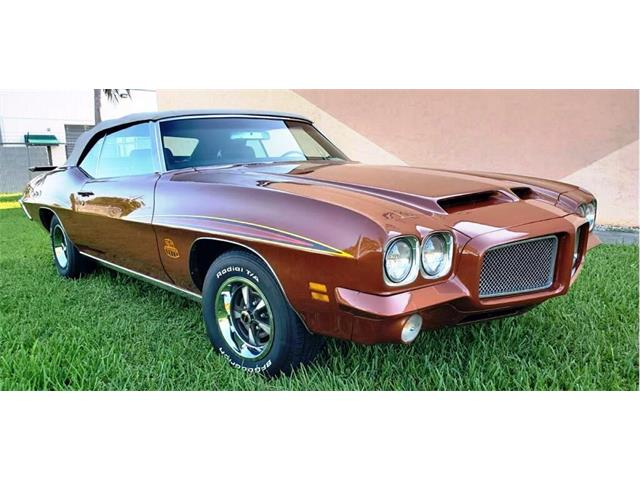 1971 Pontiac GTO (CC-1336698) for sale in pompano beach, Florida