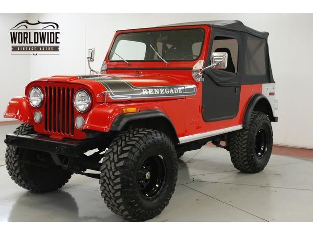 1977 Jeep CJ7 (CC-1336770) for sale in Denver , Colorado