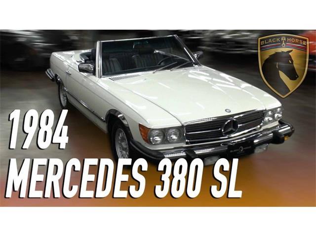 1984 Mercedes-Benz 380SL (CC-1336917) for sale in Bridgeport, Connecticut
