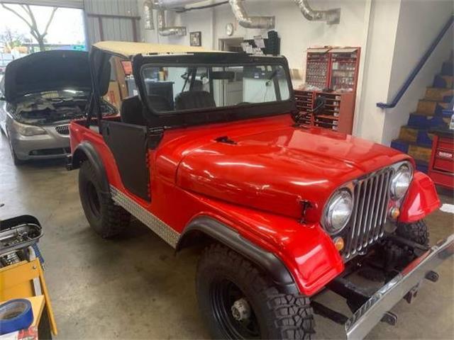 1968 Jeep CJ5 (CC-1337052) for sale in Cadillac, Michigan