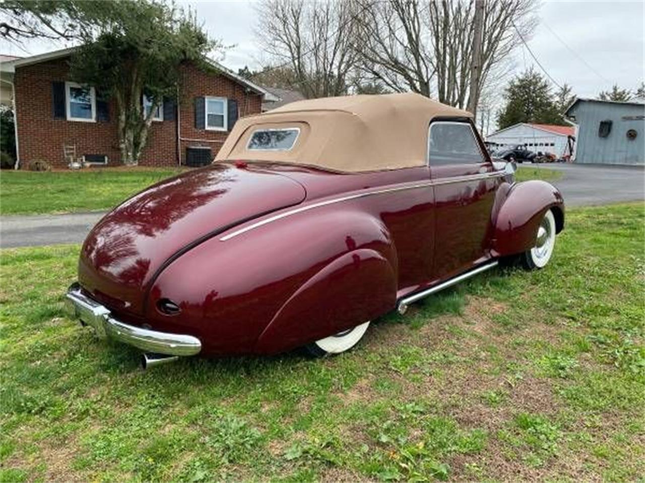1939 Mercury Convertible (CC-1337054) for sale in Cadillac, Michigan