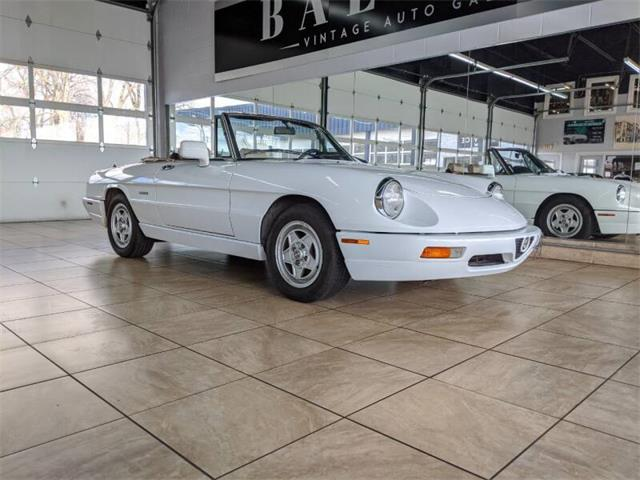 1991 Alfa Romeo Spider (CC-1337076) for sale in St. Charles, Illinois