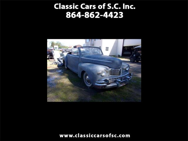 1946 Lincoln Zephyr (CC-1337218) for sale in Gray Court, South Carolina