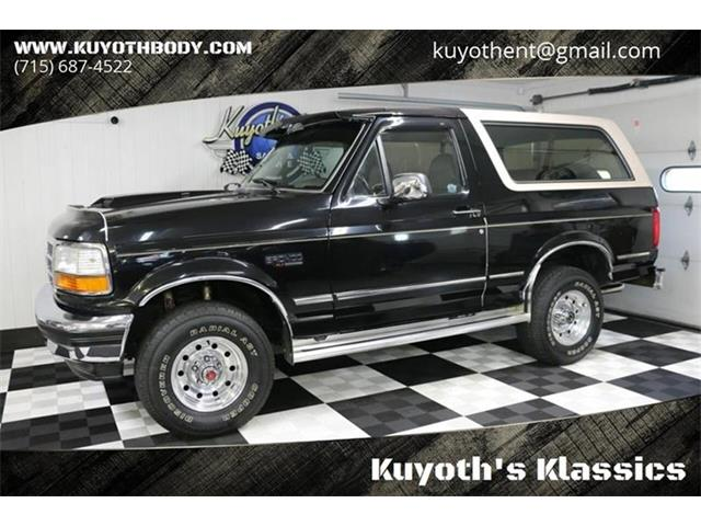 1992 Ford Bronco (CC-1337253) for sale in Stratford, Wisconsin