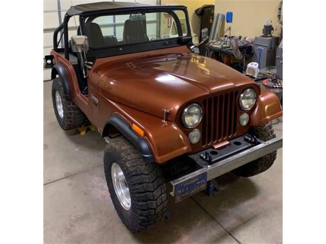 1974 Jeep CJ5 (CC-1337279) for sale in Cadillac, Michigan