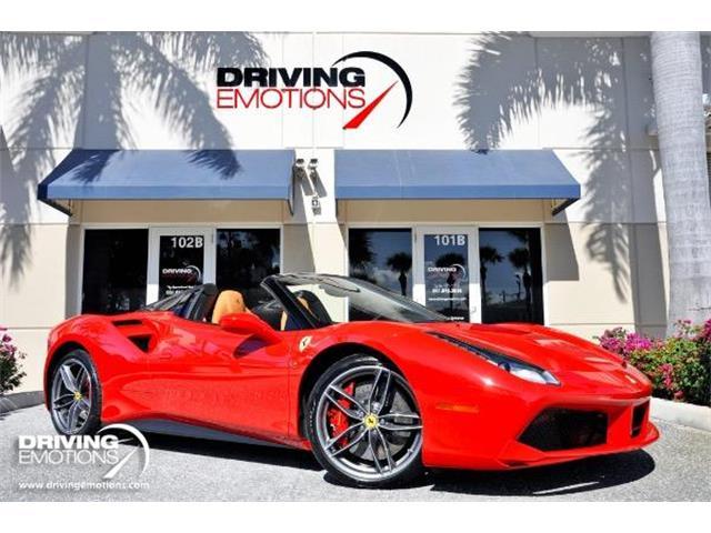 2017 Ferrari 488 Spider (CC-1337387) for sale in West Palm Beach, Florida