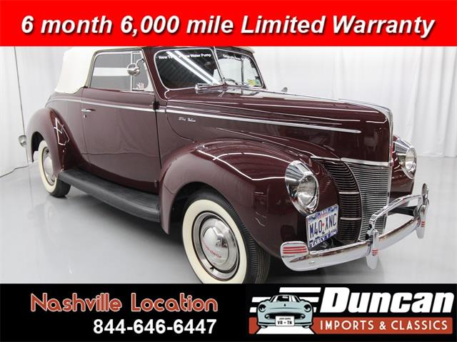 1940 Ford Deluxe (CC-1337412) for sale in Christiansburg, Virginia