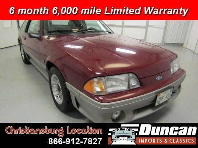1989 Ford Mustang (CC-1337423) for sale in Christiansburg, Virginia