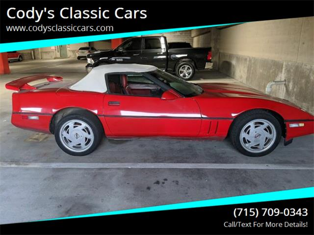 1987 Chevrolet Corvette (CC-1337456) for sale in Stanley, Wisconsin