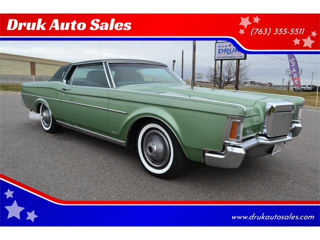 1971 Lincoln Continental (CC-1337482) for sale in Ramsey, Minnesota
