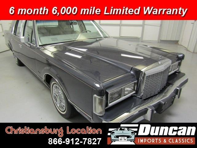 1985 Lincoln Town Car (CC-1337487) for sale in Christiansburg, Virginia