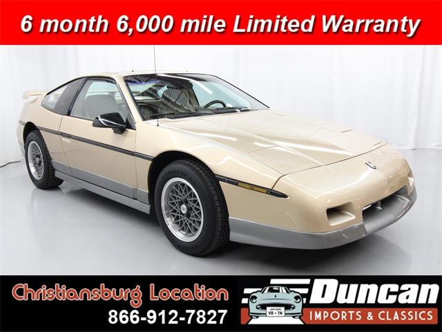1987 Pontiac Fiero (CC-1337512) for sale in Christiansburg, Virginia