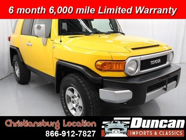 2010 Toyota FJ Cruiser (CC-1337527) for sale in Christiansburg, Virginia